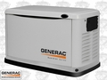 Generac 6721 Air Cooled Standby Generator w/ Grey Aluminum Enc