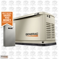 Generac 7037 16KW Guardian Standby Generator w/ 200a Service Rated ATS