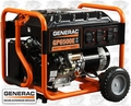 Generac GP6500E 6,500 Watt 5941 Electric Start Portable Generator (49 State)