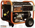 Generac GP7500E 7500 Watt 5943-0 Electric Start Portable Generator (49 St)