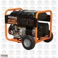 Generac 5943 7500 Watt Electric Start Portable Generator (49 St)