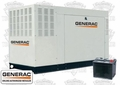 Generac QT04854ANAX 48kW NG/LP Standby Generator and Battery Kit