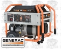 Generac XG7000E 7,000 Watt Electric Start Portable Generator (CSA)