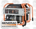 Generac XG8000E 8,000 Watt Electric Start Portable Generator (CARB)