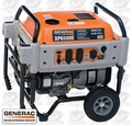 Generac XP6500E 6,500 Watt Electric Start Portable Generator (49/CSA)