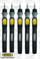 General Tools 500 5pk Cordless Mini Precision Screwdrivers