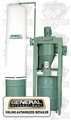 General Woodworking Machinery 10-810 M1 3 HP 2 Stage Dust Collector