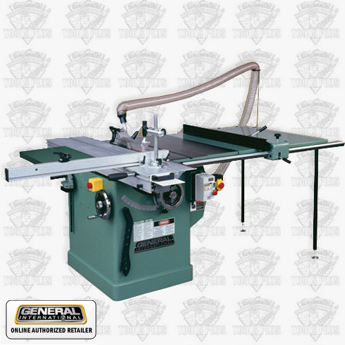 Sliding Table Saw : ... Woodworking Machinery 50-560AM1 3 HP, 220V, 1 PH 10