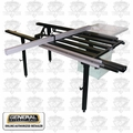 General Woodworking Machinery 50-SLT40P Excalibur Sliding Table