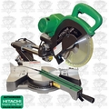 Hitachi C10FSHPS Sliding Dual Compound Miter Saw