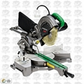 "Hitachi C8FSHE 8-1/2"" Sliding Compound Miter Saw PLUS Laser Marker"