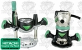 Hitachi KM12VC Variable Speed Fixed/Plunge Base Router Kit
