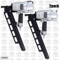 "Hitachi NR83A3 2pk 3-1/4"" Plastic Collated Framing Nailer w/ Dpth Adjustment"