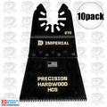 "Imperial Blades IBOA270-10 10pk ONE FIT 2-1/2"" J-Tooth Oscillating Blades HCS"