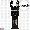 "Imperial Blades IBOA330-3 3pk ONE FIT 1-1/4"" 18T Universal Osc Blade BM"
