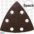 Imperial Blades IBOTSPH80-5 5pk 80 Grit Oscillating Triangle Sandpaper