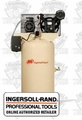 Ingersoll Rand 45465010 2340N5-V 80 Gallon Vertical Air Compressor
