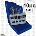 Irwin 11119 Screw Extractor And Left-Hand Cobalt Drill Bit Set