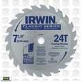 "Irwin 15130 7-1/4"" x 24 Tooth Carbide Circular Saw Blade"