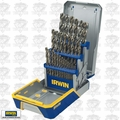 Irwin 3018002 29 Piece Cobalt M-35 Metal Index Drill Bit Set