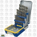 Irwin 3018002B 29 Piece Drill Bit Industrial Set-Cobalt M42