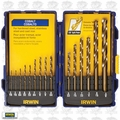 "Irwin 316015 15pc 1/16"" to 3/8"" Cobalt Drill Bit Set"
