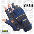 Irwin 432003 2pk Large Carpenter Gloves