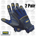 Irwin 432006 2 Pair XL General Construction Gloves