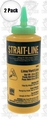 Irwin Strait Line 64907 2pk 8 oz Micro-Fine Powder Green Chalk