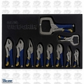 Irwin Vise Grip 1078TRT 10 Piece Fast Release Locking Pliers Set