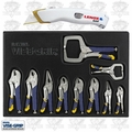 Irwin Vise Grip 1078TRT 10pc Locking Pliers Set + Lenox Utility Knife Kit