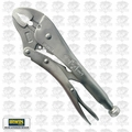 "Irwin Vise Grip 10WR 10WR 10"" Curved Jaw Locking Pliers w/ Wire Cutter"