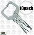 Irwin Vise Grip 11R C-Clamp Locking Pliers