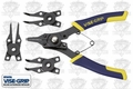 Irwin Vise Grip 2078900 Convertible Snap Ring Plier Set