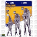 Irwin Vise Grip 323S Original Locking Pliers 3pc Set