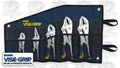 Irwin Vise Grip 538KBT 5 pc Fast Release Locking Plier Set