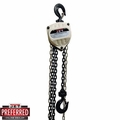 JET 101724 10 Ton 10' Lift Hand Chain Hoist