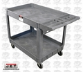 "JET 140018 PUC-3117 31-1/8"" x 17-1/8"" Resin Utility Cart"