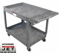 JET 140019 Series Heavy-Duty Resin Service Cart