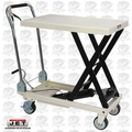 JET 140771 SLT-330F Scissor Lift Table w/ Folding Handle and 330lb Cap