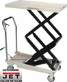 JET 140778 DOUBLE SCISSOR Lift TABLE 770-LB. CAPACITY