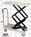 JET 140778 DSLT-770 770-lb. DSLT Series Double Scissor Lift Table