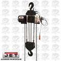 JET VOLT-1000-03P-20 3PH 460V 20' LIFT VOLT 10T Var Spd Electric Chain Hoist