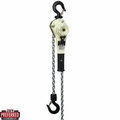 JET 235020 1.6 Ton LVR Hoist + 20' Lift +SHIP YARD HOOKS