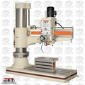 JET 320038 J-1230R 7.5HP, 3PH, 230/460V 4' Arm Radial Drill Press