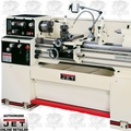 JET 321133 GH-1340W-3 3HP 3PH 230/460V Bench Lathe + NEWALL DP700 DRO