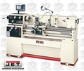 JET 321144 3HP 3PH 230/460V Bench Lathe + DP700 DRO, Taper Att