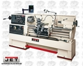 JET 321502 GH-1660ZX Lathe w/ Newall DP700 DRO + Taper Att & Collet Closer