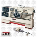 JET 321881 GH-2280ZX LATHE w/ NEWALL DP700 Digital Readout + Taper ATTCHMNT