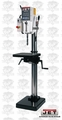 "JET 354041 J-A4008M-PF4 3HP 3PH 440/460V 26"" Gear Head Drill Press + Pwrfeed"
